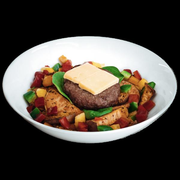 meal plans diet - Steak Burger