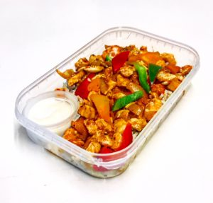 Healthy Chicken Tikka in meal container