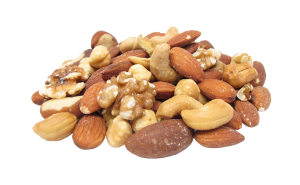Selection of nuts - diet food delivery