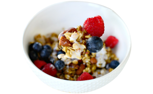 Nutty fruit granola - diet food delivery