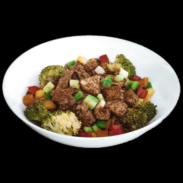 Thai Spiced Turkey Teriyaki Noodles - diet food