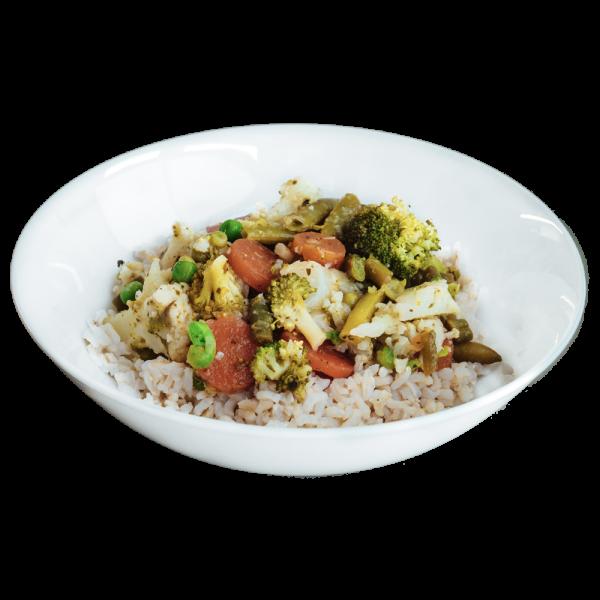 Thai Green Vegetable Curry - diet food dinners