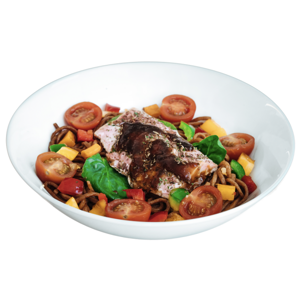 diet food - Teriyaki Glazed Salmon Fillet